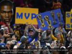 golden state warriors forward kevin durant holds