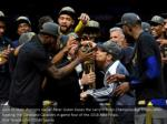 golden state warriors owner peter guber kisses