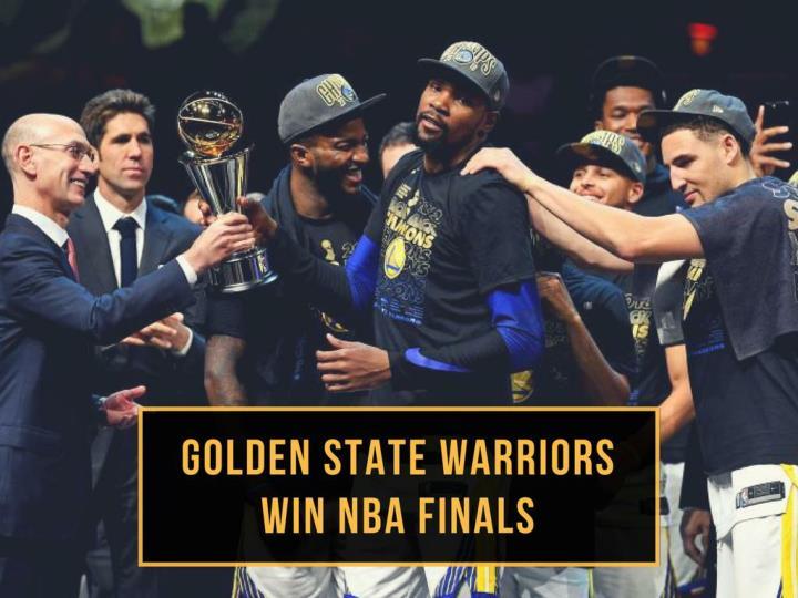 golden state warriors win nba finals n.
