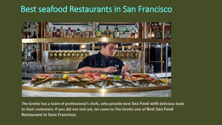 Ppt Best Seafood Restaurants In San Francisco Powerpoint