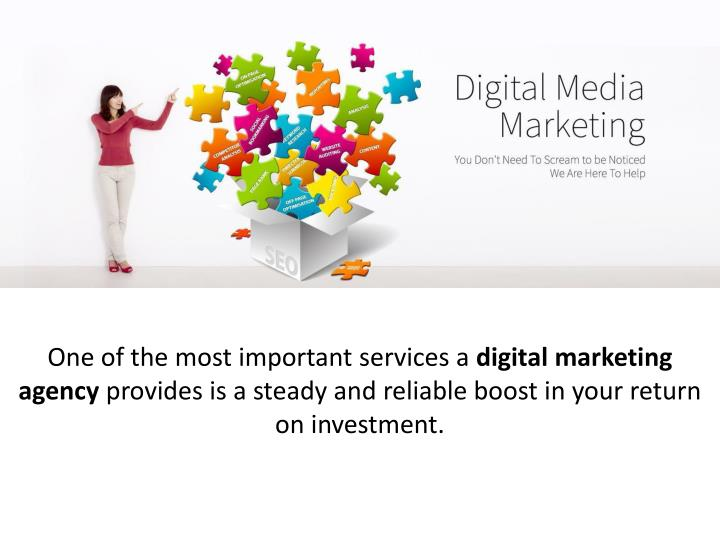 one of the most important services a digital n.