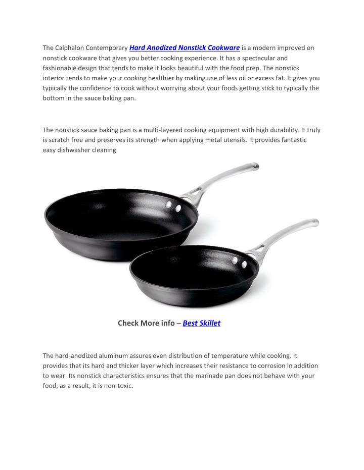 the calphalon contemporary hard anodized nonstick n.