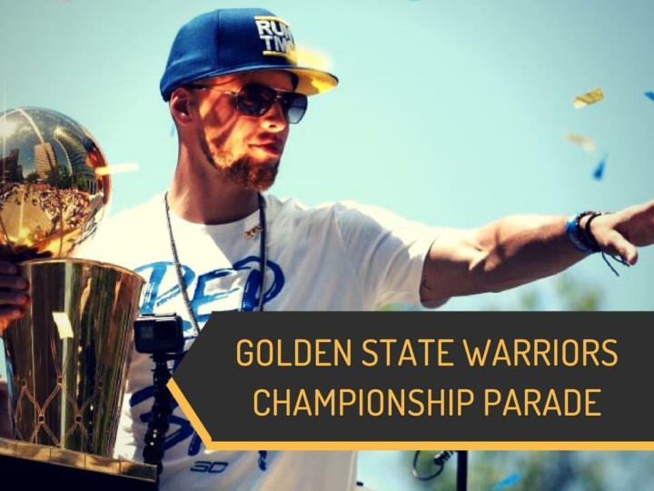 golden state warriors championship parade n.