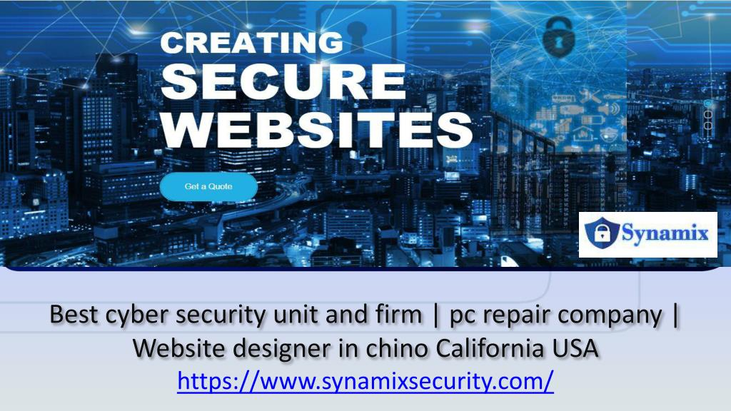 Ppt Best Cyber Security Unit And Firm Pc Repair Company Website Designer In Chino California Usa Powerpoint Presentation Id 7920191