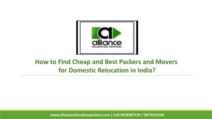 how to find cheap and best packers and movers n.