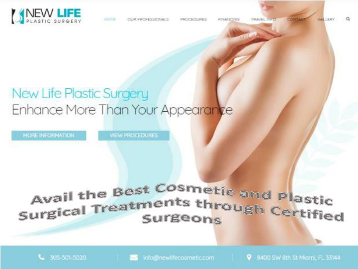 avail the best cosmetic and plastic surgical n.