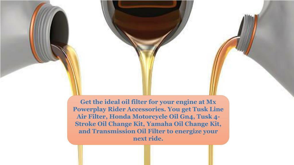 PPT - Honda Motorcycle Oil |Tusk Line Air Filter |Engine Oil