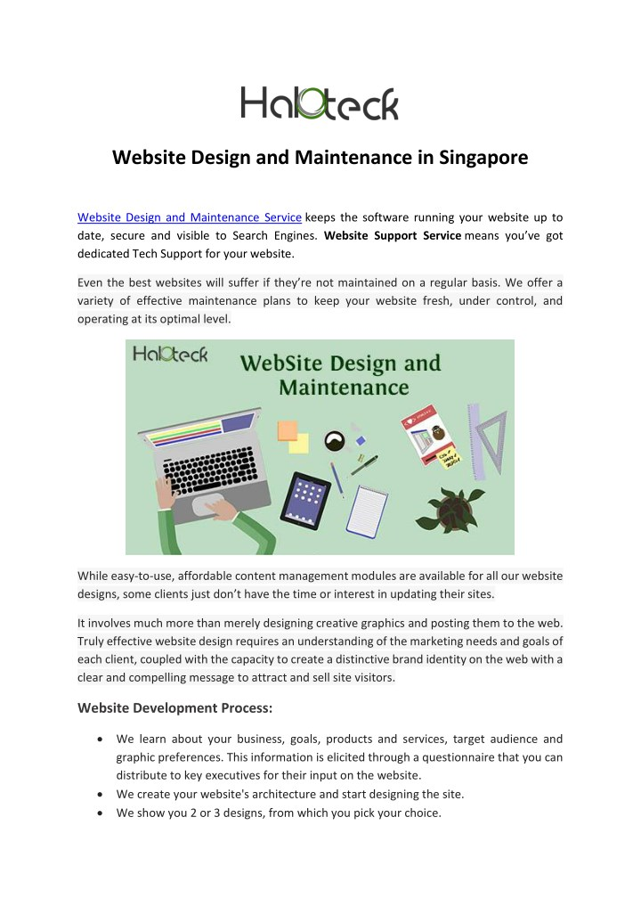 PPT - Website Design and Maintenance in Singapore PowerPoint