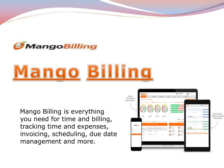 mango billing is everything you need for time n.