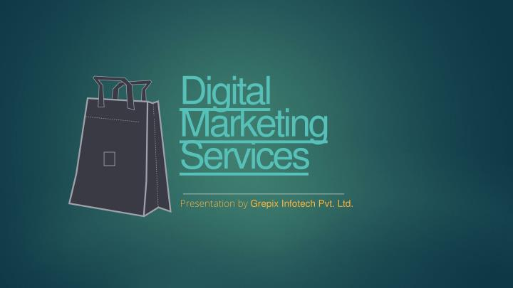 digital marketing services n.