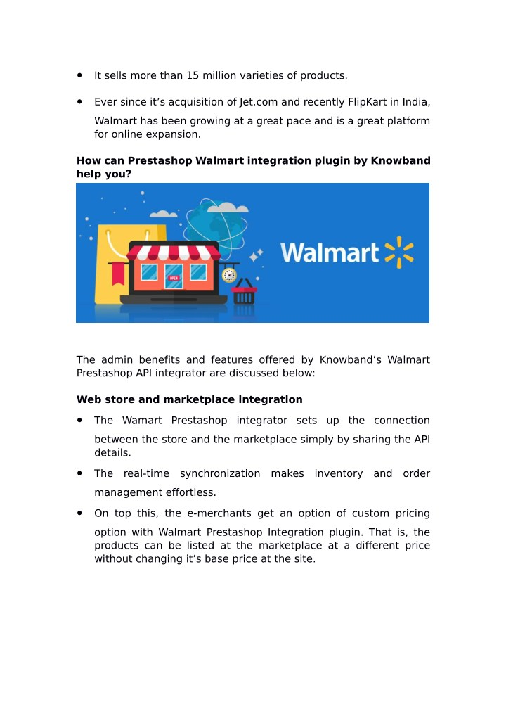 PPT - Prestashop Walmart Integrator: How and Why should you sell on