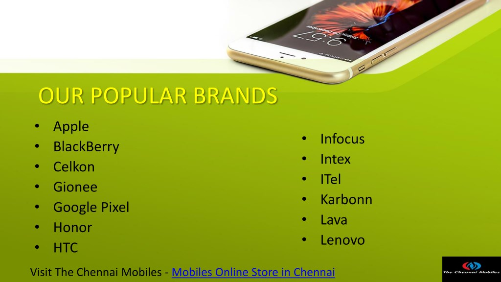 PPT - TOP COLLECTION OF BRANDED MOBILES AT OUR ONLINE STORE