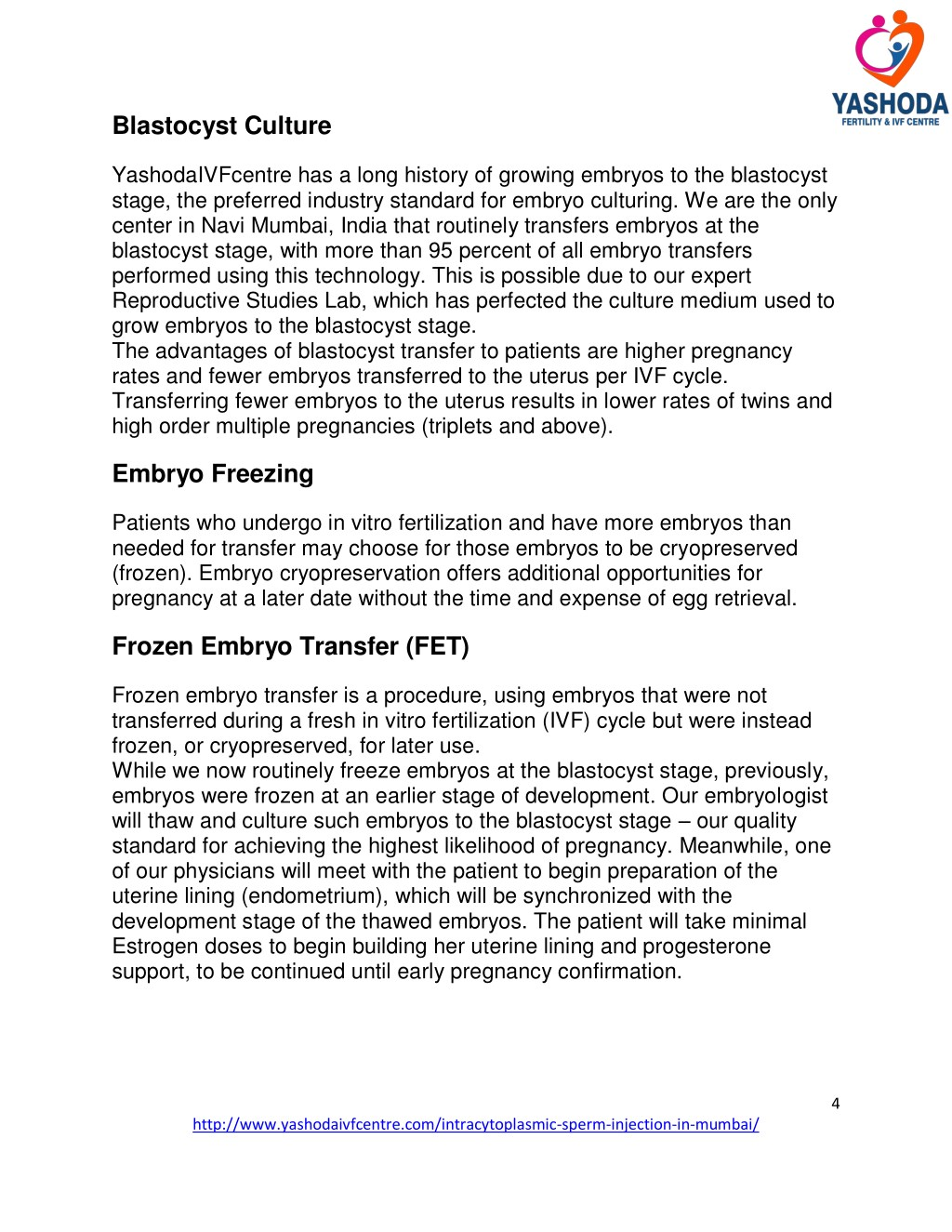 PPT - Advanced Infertility Treatment ICSI,IVF,Egg Donation