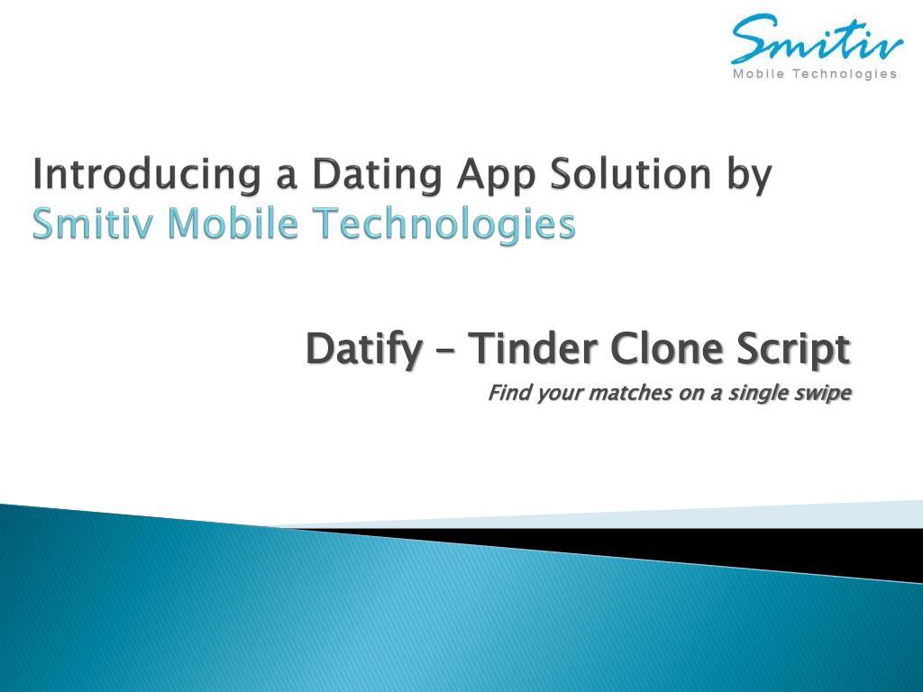 Dating technologies