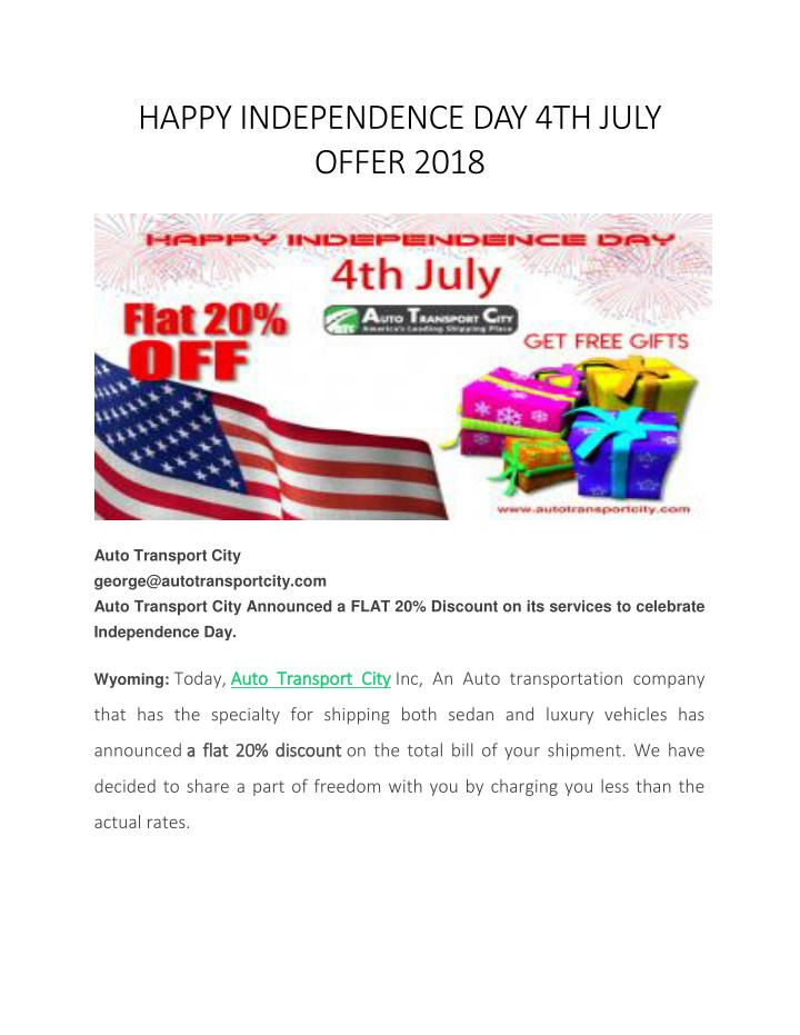 happy independence day 4th july offer 2018 n.