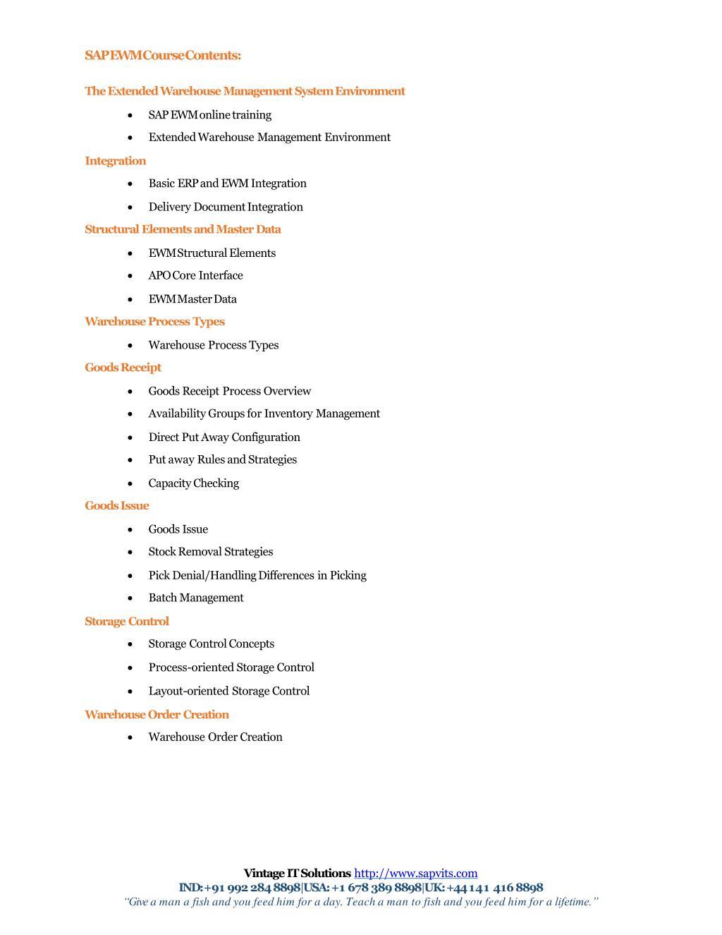 PPT - SAP EWMS PPT PowerPoint Presentation - ID:7924655