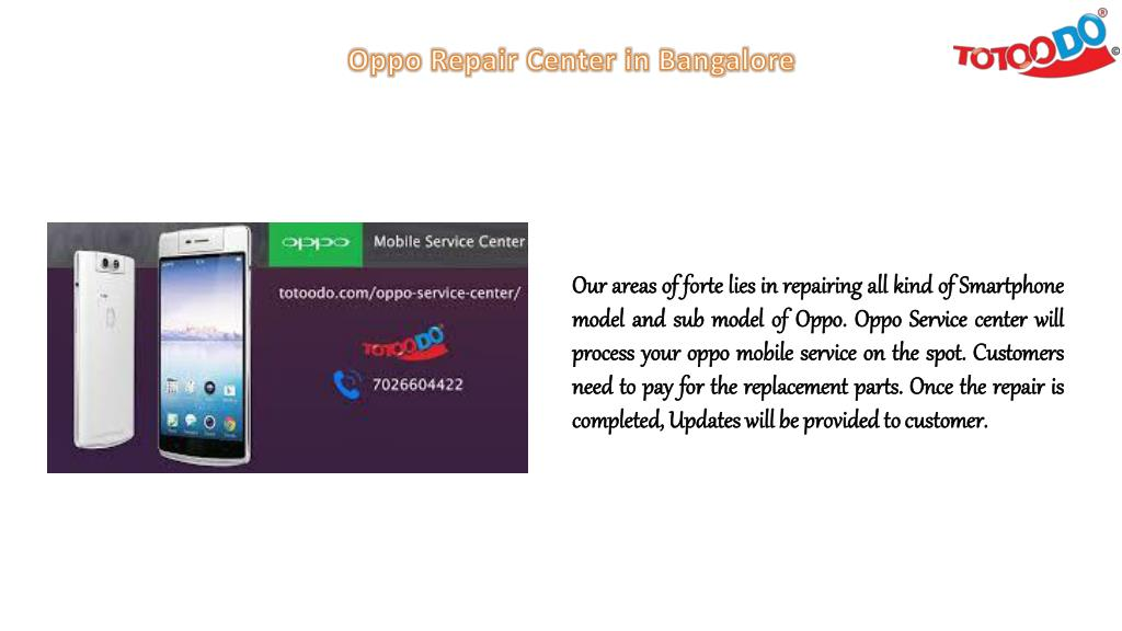 PPT - Take a Visit to Hassle Free Oppo Mobile Service Center