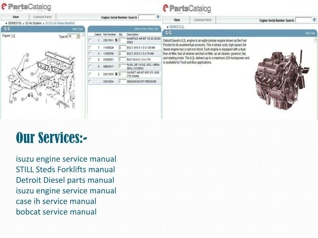 PPT - Detroit Diesel parts manual PowerPoint Presentation - ID:7926230