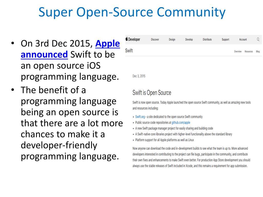 PPT - Top Benefits of Swift for iOS App Development