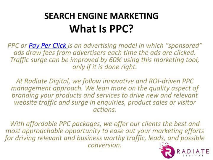 PPT - Online Advertising Google Adwords (PPC) Services in