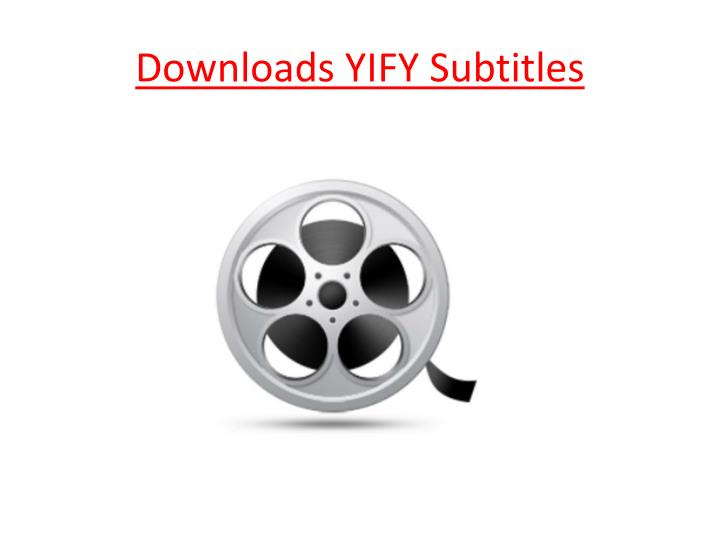official yify subtitles