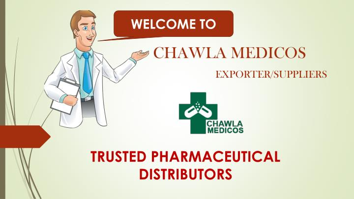 trusted pharmaceutical distributors n.