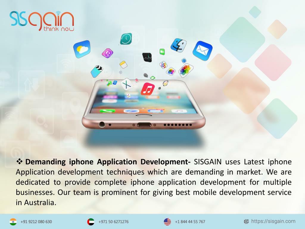 PPT - Mobile development agency in Perth |SISGAIN PowerPoint