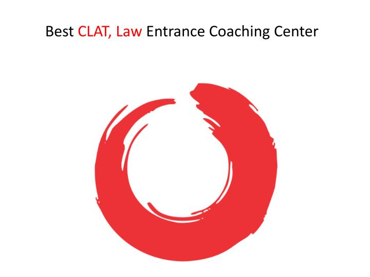 best clat law entrance coaching center n.