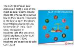 the clat common law admission test