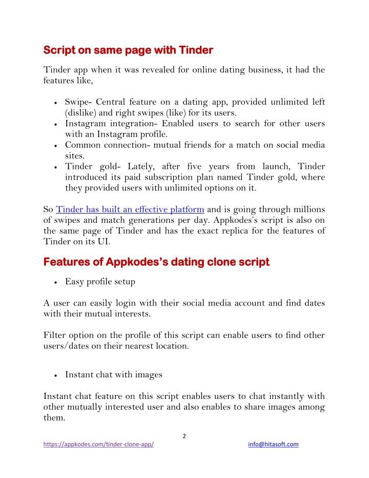 Open source dating site platform