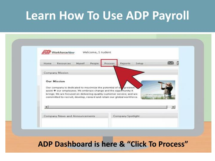 PPT - Learn How To Use ADP Payroll PowerPoint Presentation
