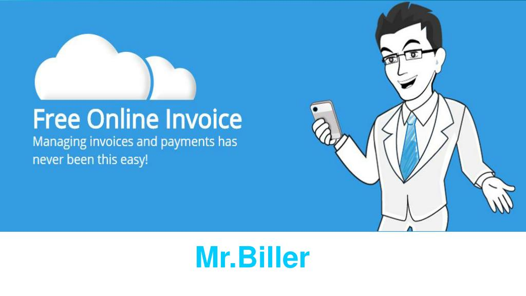 PPT - Free Printable Invoice Templates - Mr. Biller PowerPoint Presentation  - ID:7927977