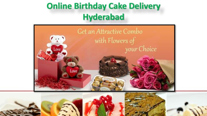 Online Birthday Cake Delivery Hyderabad