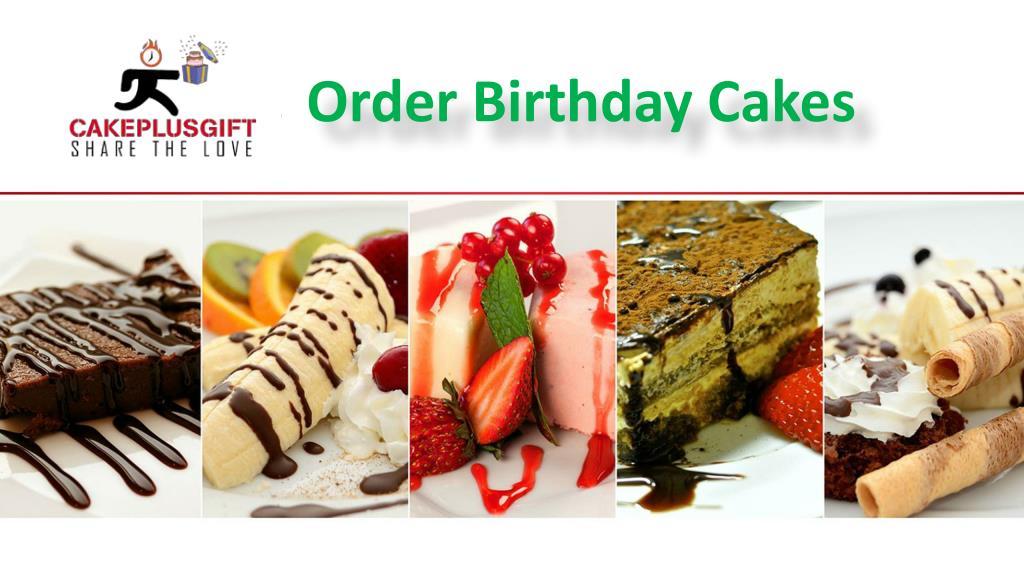 Order Birthday Cakes N