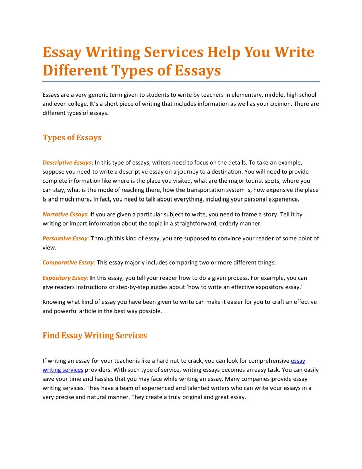 An Essay On Science  Essay On Good Health also High School Admission Essay Examples Ppt   Essay Writing Services Help You Write Different Types  English Language Essay Topics