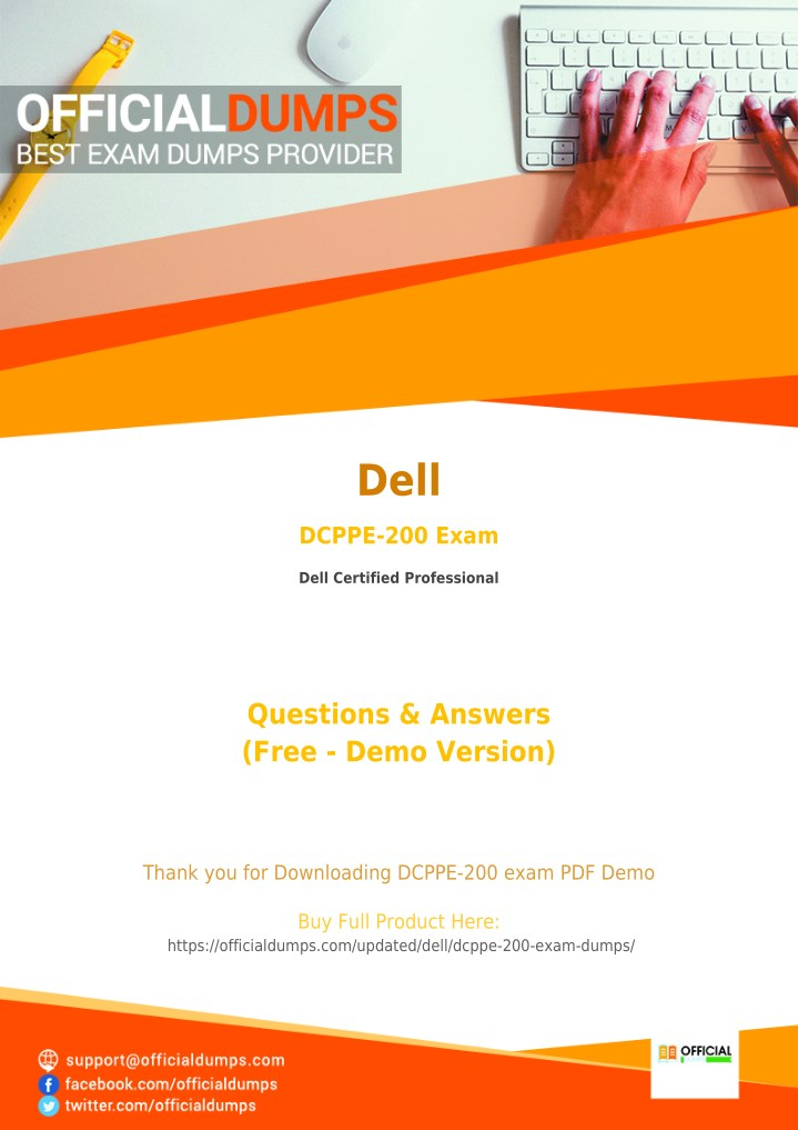 PPT - DCPPE-200 Exam Questions - Affordable Dell DCPPE-200 Exam