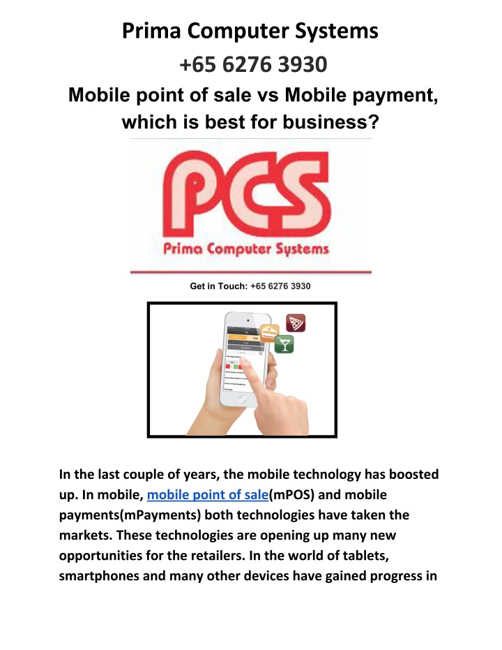 prima computer systems 65 6276 3930 mobile point n.