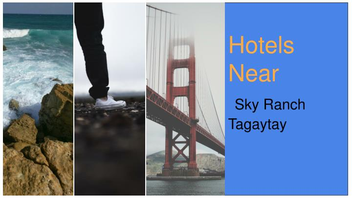 hotels near sky ranch tagaytay n.