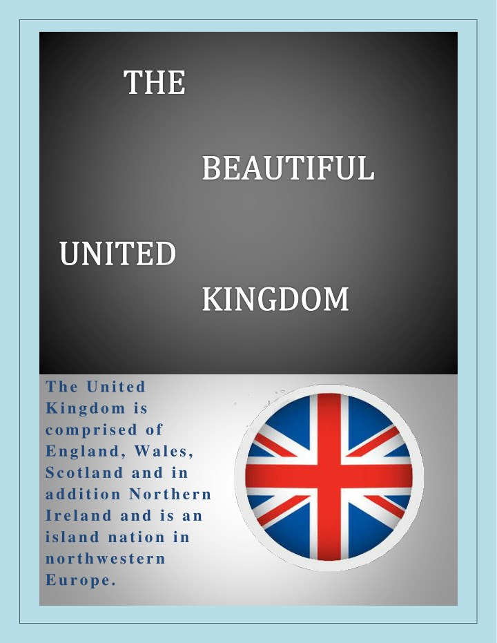 the united kingdom is comprised of england wales n.