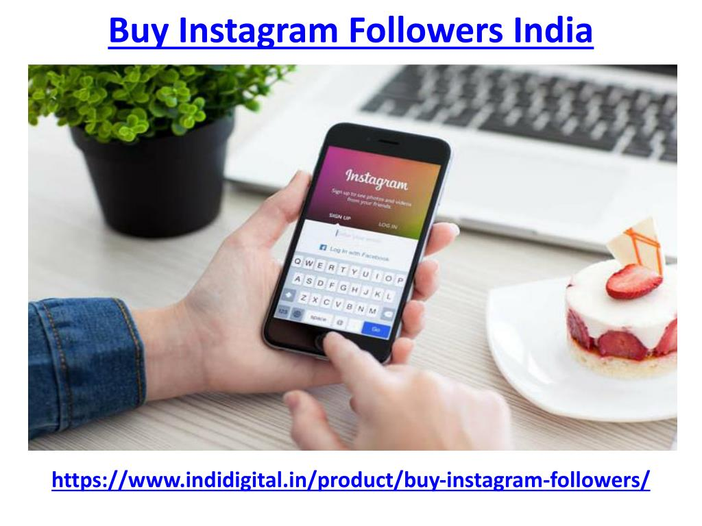 PPT - Get the best buy instagram followers india PowerPoint
