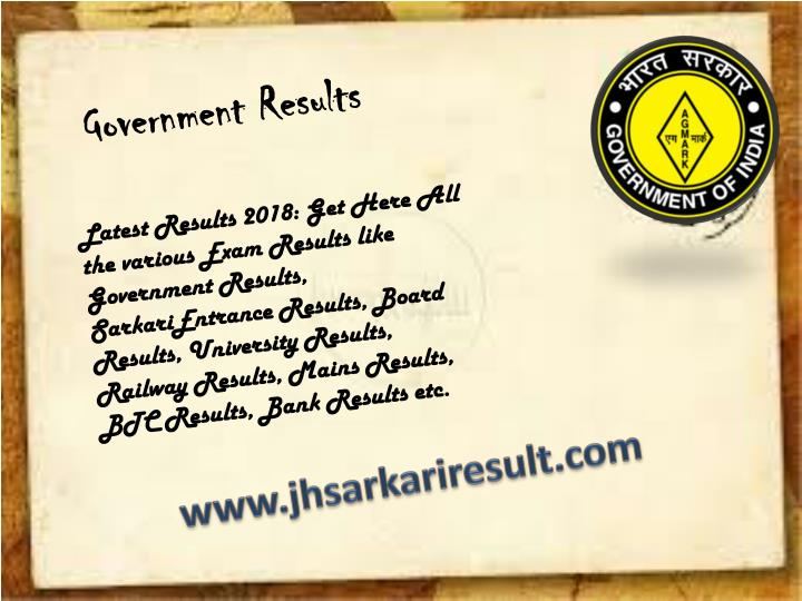 government results n.