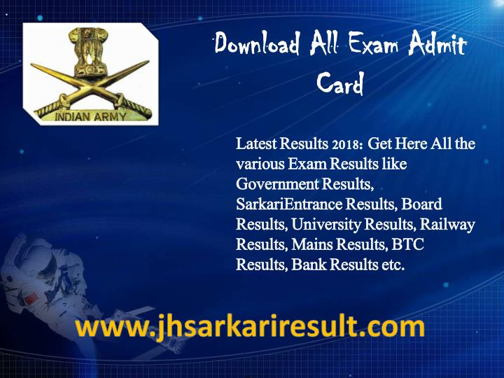 download all exam admit card n.