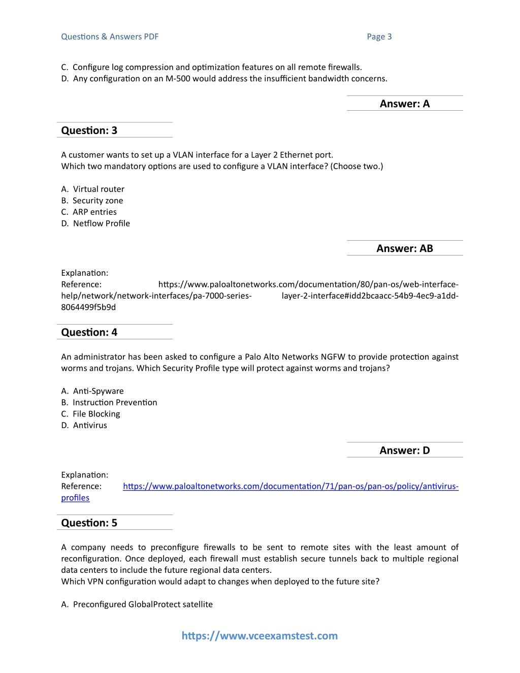 PPT - Get Paloalto Networks PCNSE (PAN OS 8 0) VCE Exam PDF 2018