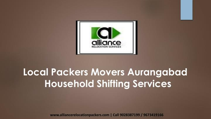 local packers movers aurangabad household n.