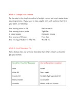week 5 change your portions portion size