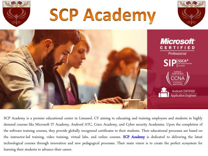 scp academy n.