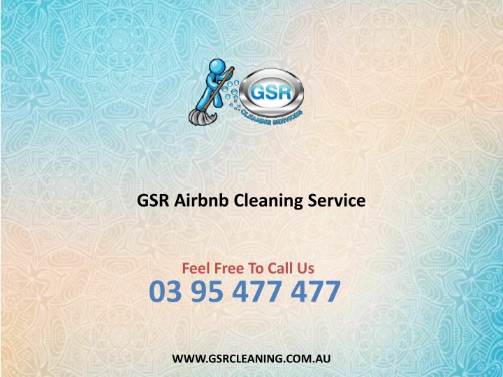 gsr airbnb cleaning service n.
