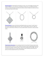 diamond necklaces are perfect gifts