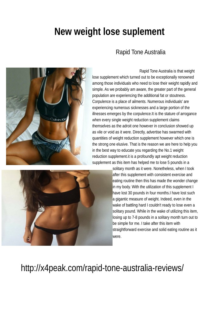 new weight lose suplement n.