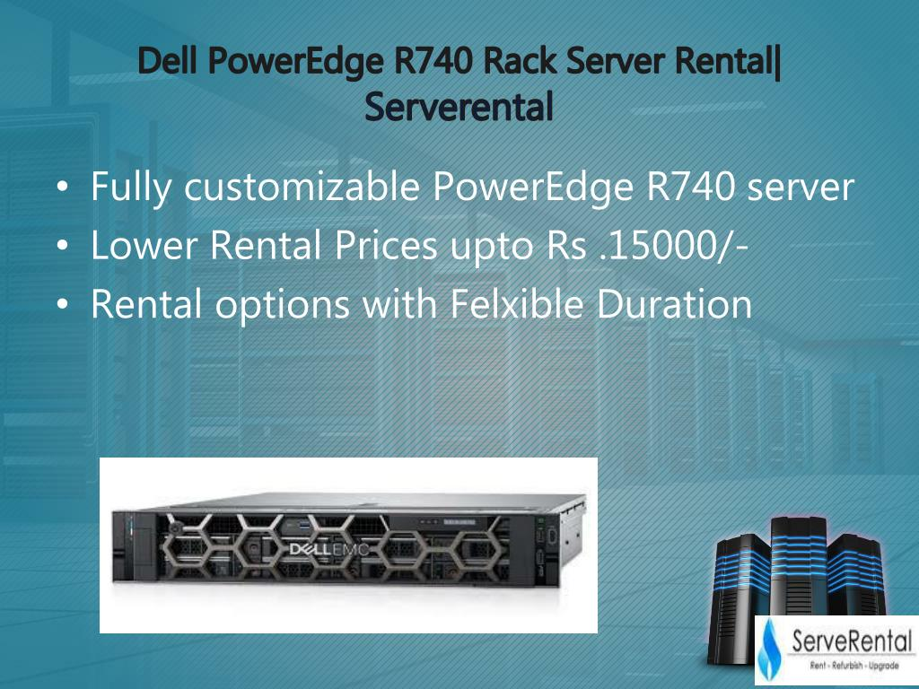 PPT - Dell Power edge R740 server PowerPoint Presentation - ID:7936309
